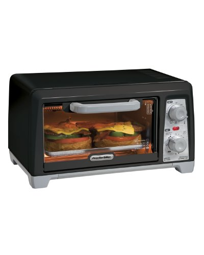Proctor Silex 31111 Toaster Oven/Broiler, Black