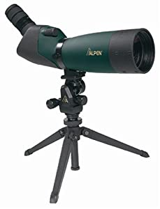 Alpen 20-60x80 w/45 degree EP, waterproof Spotting Scope