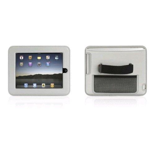 Griffin Ipad Cinema Seat Car Headrest Video Case Gray front-287604