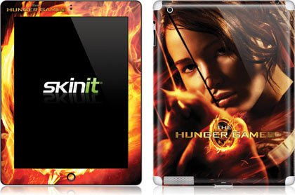 Skinit The Hunger Game -Katniss Bow & Arrow Vinyl Skin for Apple New iPad (3rd/4th Gen)