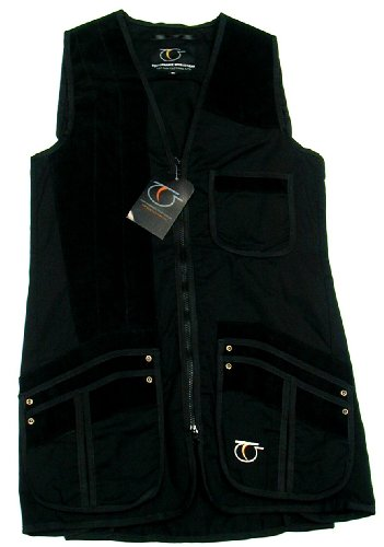 Top Gun Black Medallist Clay Shooting Skeet Vest -Size L