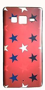 Cellmate Matt IMD Rubber finish Back Cover for Samsung Tizen Z3 - STAR