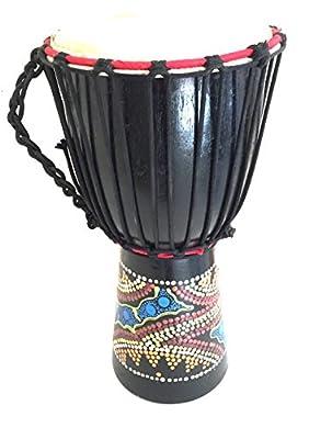 Djembe Drum Bongo Percussion Drum WORLD BAZAAR BRAND, Professional Sound from Jive