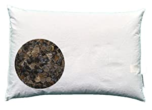"Beans72 Buckwheat Pillows Organic Buckwheat Pillow - Japanese Size (14"" x 20"") at Sears.com"