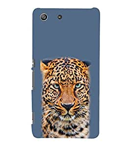 EPICCASE Cheetah Mobile Back Case Cover For Sony Xperia M5 (Designer Case)