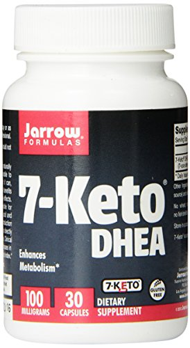 Jarrow Formulas 7-Keto DHEA, 100 mg, 30 Count