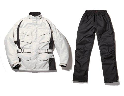 [ホンダ] マルチライダーウインタースーツ バイク用ジャケット / プラチナ / Lサイズ / 0SYES-N35-WL