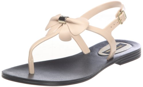 Colors of California HC8567, Sandali donna, Beige (Nude), 40