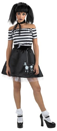 Boodle Bones Sexy Adult Theatre Costumes One Size Goth Look