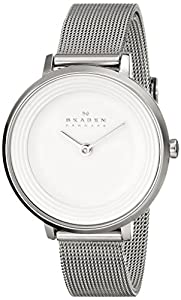 Skagen Women's SKW2211 Ditte Quartz 2 Hand Stainless Steel Silver Watch