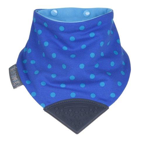The Neckerchew - Polka Dot Blue