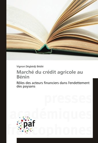 marche-du-credit-agricole-au-benin-roles-des-acteurs-financiers-dans-lendettement-des-paysans