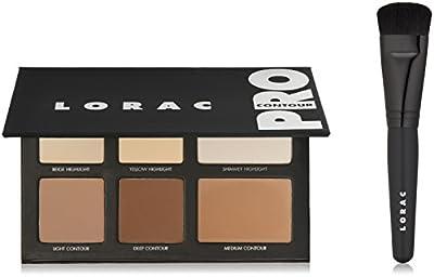 LORAC Pro Contour Palette Plus Contour Brush, 7.7 fl. oz.
