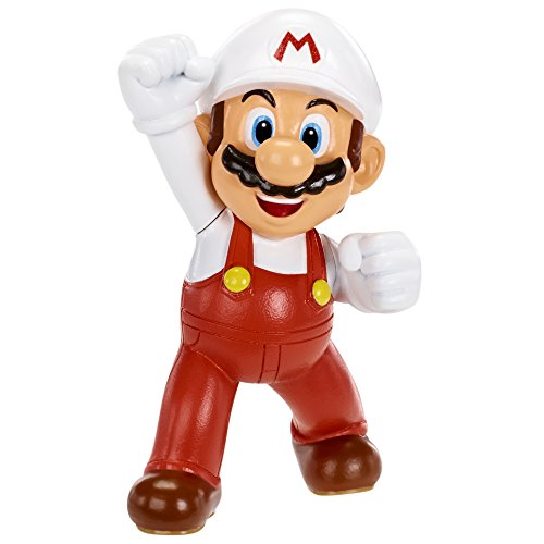 "World of Nintendo 3"" Fire Mario Figure (Series 1-1) - 1"