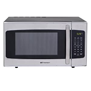 Emerson 1000W 1.3 Cu. Ft. Microwave Oven