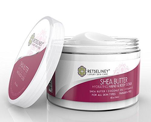 Retseliney Best Organic Shea Sugar Scrub for Hand & Body ... - photo #36