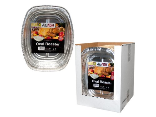 Wholesale Oval Oven Roaster Display – Set of 50, [Kitchen & Dining, Bakeware]