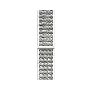 Uitee lj431 Smart Watch Band Seashell Sport Loop, Newest Woven Nylon Band for Apple Watch Series 38mm 3/2/1 , Comfortably Light With Fabric-Like Feel Wrist Strap Replacement with Classic Buckle