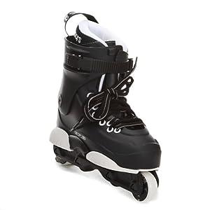 Razors Genesys 7.3 Men's Aggressive Skates 2013 Black-White 8.0