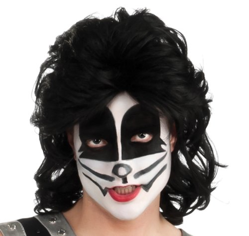 Kiss The Catman Adult Wig