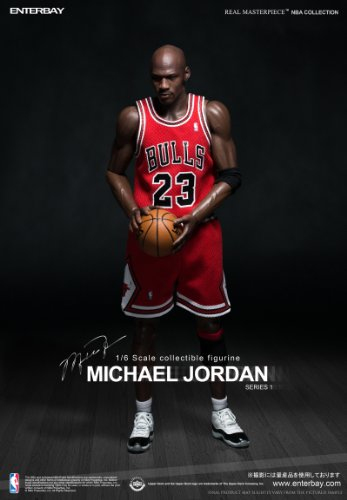 """1/6 リアルマスターピース コレクティブル フィギュア/ NBAクラシックコレクション: マイケル・ジョーダン """"I'm Legend #23"""" ロード・ユニフォーム ver"""