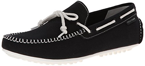 Cole Haan Men's Grant LTE Slip-On Loafer, Black Fabric/White, 10.5 M US (Cole Haan Grant Lte compare prices)