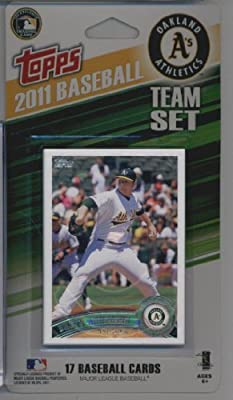 2011 Topps Limited Edition Oakland Athletics Baseball Card Team Set (17 Cards) - Not Available In Packs!!