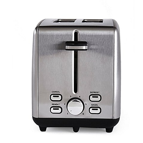 Stainless Steel Construction, 925 Watts, Durable, Efficient,, 2-Slice, Imported Toaster