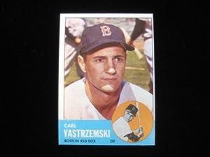 1963 Topps Carl Yastrzemski #115 Near Mint 90/10 - MLB Baseball Cards