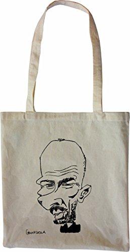 mister-merchandise-tote-bag-pep-josep-guardiola-karikatur-borsa-bagaglio-colore-naturale