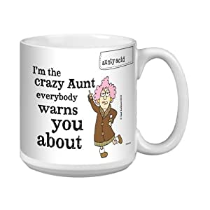 Amazon.com | Tree-Free Greetings XM27763 Aunty Acid Artful