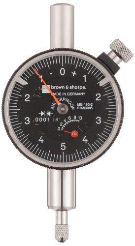 Brown & Sharpe 14.83005 Dial Indicator, 4.0-48 Thread, 0.374