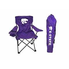 Buy NCAA Kansas State Wildcats Youth Folding Chair With Carrying Case by Rivalry