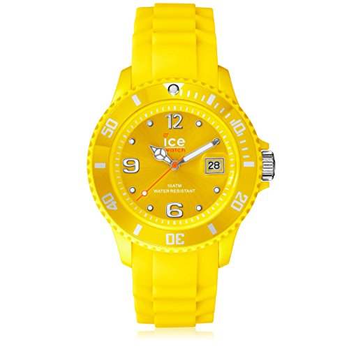 Ice-Watch Women's SIYWSS09 Sili Collection Yellow Dial Watch (Sili Co compare prices)