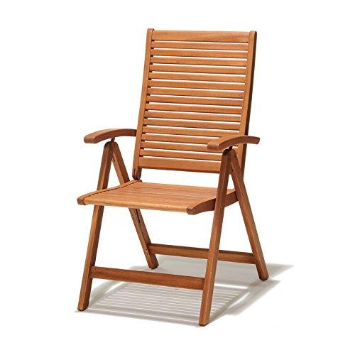 ScanCom 1155900000 Kingsbury Positionsstuhl, mehrfach verstellbar, Eukalyptusholz, FSC zertifiziert bestellen