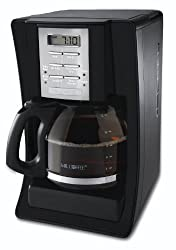 Mr. Coffee SJX23 12-Cup Programmable Coffeemaker, Black made by Mr. Coffee