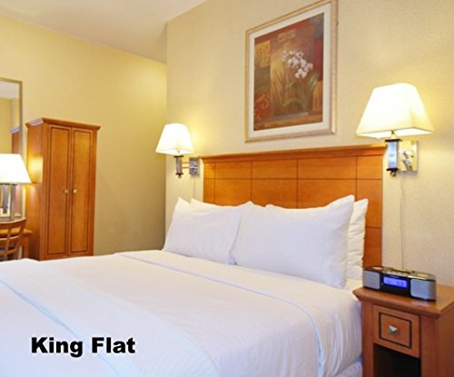 King Size Flat Sheet, T-200, white, (Cheap Flat Sheets compare prices)
