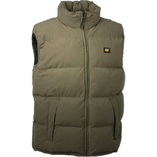 Caterpillar C430 Quilted Insulated Vest / Mens Jackets (XX-Large) (Olive)