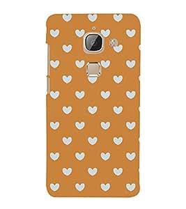 Famous Heart Pattern Cute Fashion 3D Hard Polycarbonate Designer Back Case Cover for LeEco Le 2 Pro :: LeTV 2 Pro (NEW MODEL)