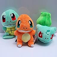 5.8″ 3pcs/set Pokemon Bulbasaur Charm…