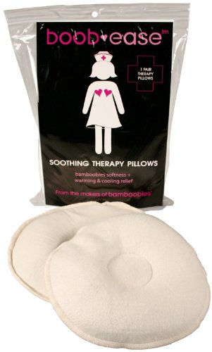 Bamboobies Boob-ease Soothing Therapy Pillows + Free Pair Bamboobies – 2 Pk