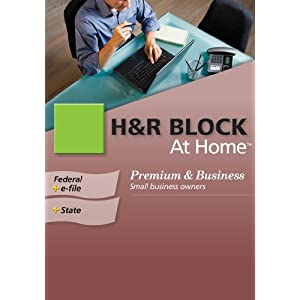 Amazon. Com: h&r block at home 2009 deluxe federal + efile.