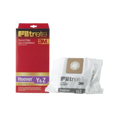 Hoover Y&Z Hepa Vacuum Bag By Filtrete , Case Pack Of 12 Bags
