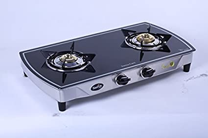 Care SC GLS 201 Mirror Gas Cooktop (2 Burner)