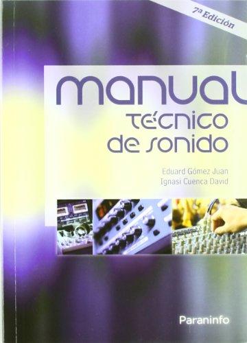 MANUAL TECNICO DE SONIDO  descarga pdf epub mobi fb2