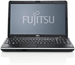 Fujitsu LIFEBOOK A512 NG 39,6 cm (15,6 Zoll)Anti-Glare-HD-LCD im 16:9-Breitbildformat Notebook (Intel Pentium 2020M, 2,4GHz, 4GB RAM, 500GB HDD, DVD, Win 7 HP) schwarz