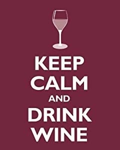 Keep Calm And Drink Wine Cork Holder Amazon