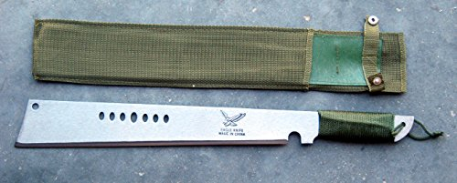 Heavy Duty Cane/Brush Cutter Machete Machette With Sheath