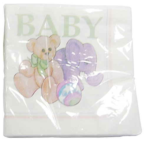 "The Cindus Collection 9"" ""Baby Toys"" Beverage Napkins Baby Showers Parties"