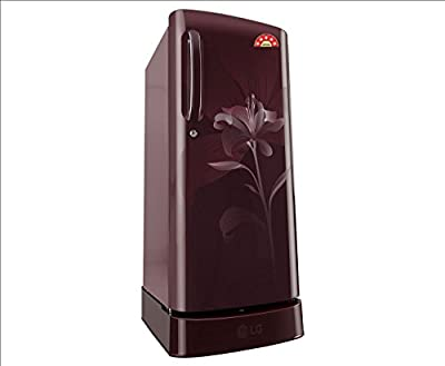LG GL-D201ASLN.ASLZEBN Direct-cool Single-door Refrigerator (190 Ltrs, 5 Star Rating, Scarlet Lily)